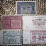 Rusia R.S.F.S.R. serie rublos 1921 anversos
