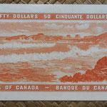 Canada 50 dollars 1954 pk.81b reverso