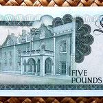 Gibraltar 5 pounds 1988 reverso