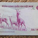 Vietnam del Sur 200 dong 1972 pk.32a reverso