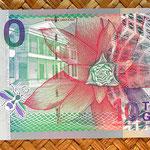 Surinam 10 gulden 2000 reverso
