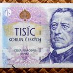 Chequia 1000 korun 1996 anverso