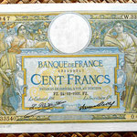 Francia 100 francos 1931 anverso