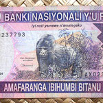 Rwanda 5000 amafranga 2004 anverso