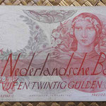 Holanda 25 gulden 1947 (154x86mm) pk.81 anverso