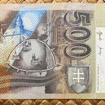 Eslovaquia 500 korun 2000 reverso