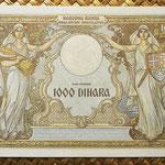 Yugoslavia 1000 dinares 1931 pk.29 reverso