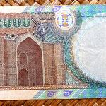 Kazajistan 2000 tenges 2000 reverso