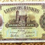 Lituania 20 litu 1930 anverso