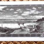 Checoslovaquia 10 korun 1960 reverso