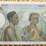 French West Africa 5000 francos 1950 reverso