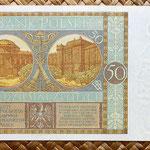 Polonia 50 zlotych 1929 reverso