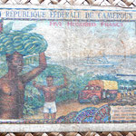 Camerún 500 francos 1962 reverso