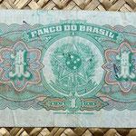 Brasil 1 mil reis 1944 reverso