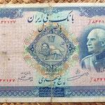 Irán 500 rials 1938 anverso