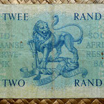 Sudáfrica 2 rand 1962 reverso
