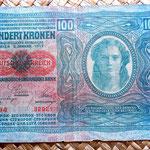 Imperio Austrohúngaro 100 coronas 1912 anverso