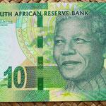 Sudáfrica 10 rand 2012 anverso