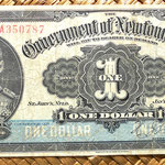 Terranova 1 dólar 1920 anverso