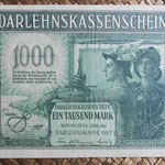 Alemania ocup. Kowno WWI 1.000 mark 1918 (190x108mm) pk.R134b anverso