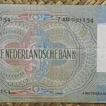 Holanda 10 gulden 1940 (144x82mm) pk.53 reverso