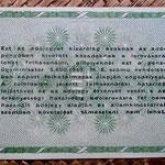 Hungria 50.000 adopengo 1946 (135x82mm) pk.138c reverso