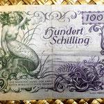 Austria 100 shillings 1949 reverso