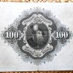 Suecia 100 coronas 1961 reverso