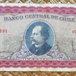 Chile 10 escudos 1962-70 anverso