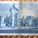 Escocia Clydesdale Bank 5 libras 1969 reverso
