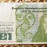 Irlanda 1 pound 1979 anverso