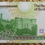 Escocia 50 pounds 2005 (155x85mm) pk.367 reverso