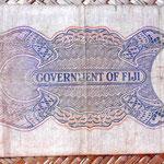 Islas Fiji colonia británica 10 shillings 1937 reverso