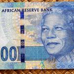 Sudáfrica 100 rand 2012 anverso