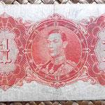 British Guyana 1 dolar 1942 reverso