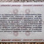 Hungria 10.000 adopengo 1946 (135x82mm) pk.143a reverso