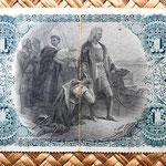 Cuba colonial 1 peso 1883 reverso