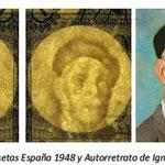 España 5 pesetas 1948 marca de agua