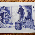 Islandia 10 coronas 1974 reverso