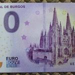 España 0 euros 2018 Catedral de Burgos anverso