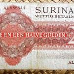Surinam 2,5 gulden 1967 reverso