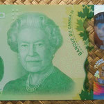 Canada 20 dollar 2015 Conmemorativo -A Historic Reign (154x70mm) pk.111 anverso