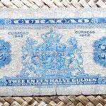 Curacao 2,50 gulden 1942 reverso