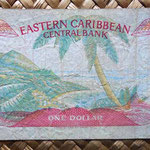 Eastern Caribbean States 1 dollar 1988 reverso