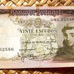 Portugal 20 escudos 1964 anverso