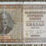 Bulgaria 1.000 levas 1942 (180x92mm) pk.61a anverso