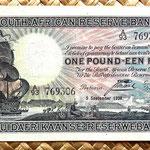 Sudáfrica 1 pound 1939 anverso