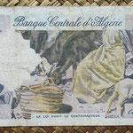 Argelia 5 dinares 1964 (160x82) pk.122 reverso