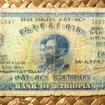 etiopia 2 thaler 1933 anverso