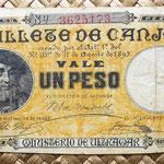 Puerto Rico 1 peso 1895 anverso